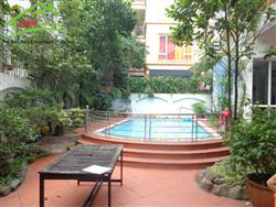 swimming pool, villa with 4 bedrooms in Dang Thai Mai, Tay Ho,Ha Noi (Fr)