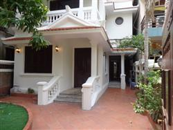 French style house, big courtyard, 4 bedrooms house for rent in Tay Ho