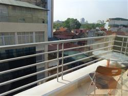 Beautiful one bedroom  with balcony  for rent in Hoan Kiem dist..,