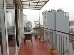Big balcony beautifull two bedrooms apartment in  Truc Bach area (Vn)