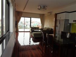 Hight quality 03 bedroom apartment rental in Yen Phu village ,Tay Ho dist.,near Ha Noi Club (Vn)
