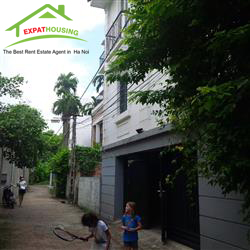 French style beautifull villa for rent in Long Bien, Ha Noi