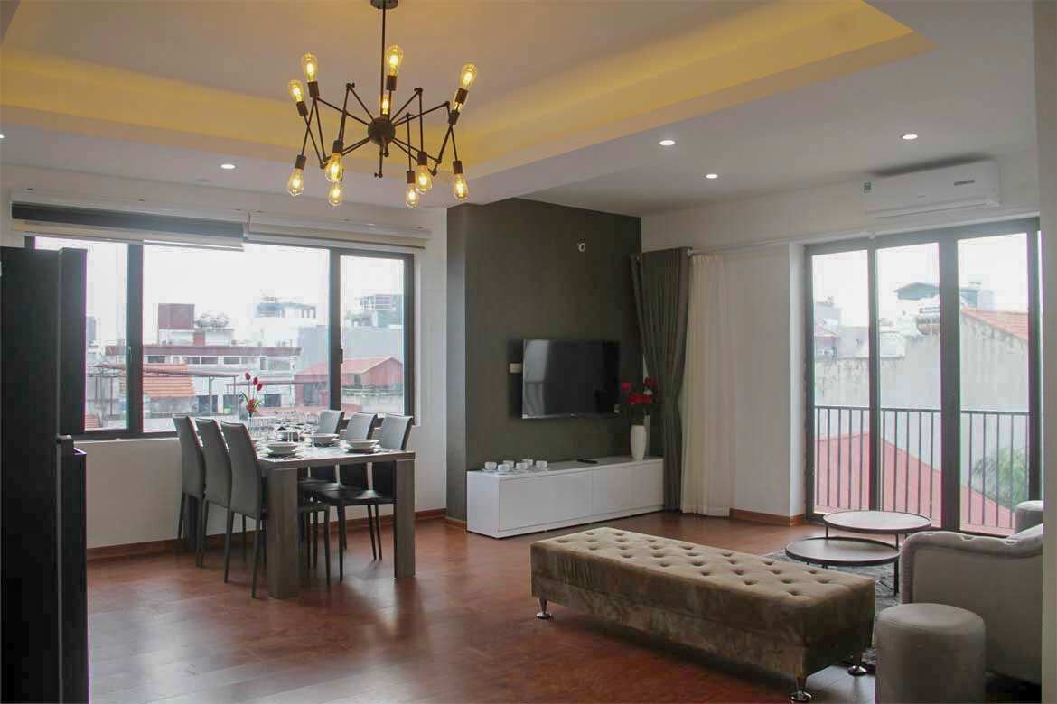 Modern and luxurious two bedrooms apartment available for rent