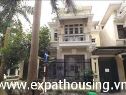 Ciputra villa for rent in C1 Block ,Tay Ho, Ha Noi