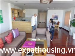 2 beds, Lake View, Apartment in Lac Chinh, Tran Vu area, Ba Dinh, Ha Noi
