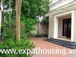 Big side Villa in T3 block Ciputra,Tay Ho,Ha Noi available for rent