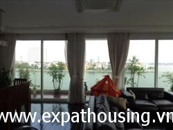 3 Bedrooms, Lake view, Service Apartment in lane  Xuan Dieu, Quang An, Tay Ho, Ha Noi