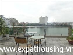 3 Bedrooms Service Apartment in Xuan Dieu, Tay Ho, Ha Noi