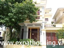 Charming Big garden villa available for rent in Ciputra, Tay Ho,Ha Noi