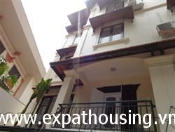 Beautiful house available for rent in To Ngoc Van,Tay Ho,Ha Noi