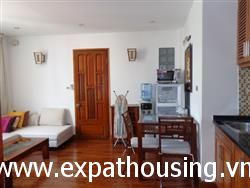 Airy, bright aparment for rent in Mac Dinh Tri street, Ba Dinh, Hanoi