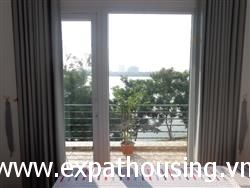 Big side Lake view one bedroom apartment for rent in Tay Ho,Ha Noi