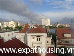 Hight floor one bedrooms lake view apartment in Xuan Dieu