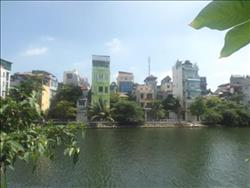 lake view & bright balcony ,3 bedroom apartment in Yen Phu, Hanoi, balcony, (Vn)