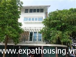 Charming french style house with lots of green view available for rent in Dang Thai Mai, Tay Ho