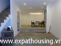 Morden house good design on alley  Xuan Dieu available for rent