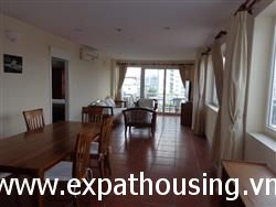 Spacious Fully Furnished 3 bedroom Apartment in Truc Bach