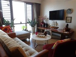 Nice apartment with 3 bedrooms and city view for rent at Mipec Riverside Long Bien dis (Vn)