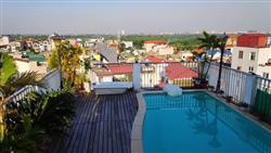 Apartment 1 bedroom with swimming pool for rent in Nghi Tam