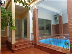 beautiful house with swimming pool, 5 bedrooms for rent  in Dang thai Mai, Tay Ho, Ha Noi (Vn)