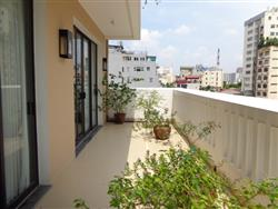 Big balcony beautifull two bedrooms apartment in  Hoan Kiem area available to rent