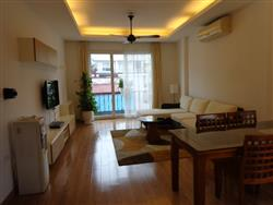 two bedrooms apartment  in Linh Lang ,Ba Dinh dist., available for rent (Vn)