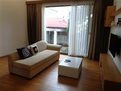 Open view two bedrooms apartment in Pham Huy Thong,Ba Dinh dist., available for rent (Vn)