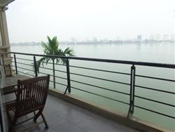 lake view 3 bedrooms, service apartment in Dang Thai Mai, Tay Ho, Ha Noi