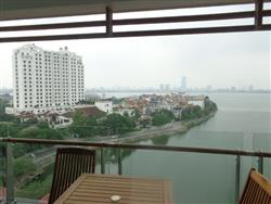 specius 3 bedrooms  Lake View Serviced Apartment for rent  in Tay Ho