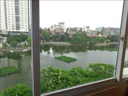 lake view 2 bedrooms apartment in Tran Vu, Ba Dinh,Ha Noi available for rent