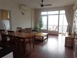 lake view apartment with balcony, 2 bedrooms, in Tay Ho