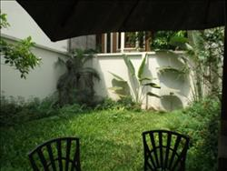Charming house with garden in quiet alley of To Ngoc Van street availble for rent